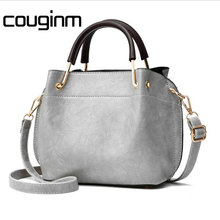 Здесь можно купить  COUGINM Brand Luxury Women Handbag Pu Leather New Fashion Flap Female Casual Small Bag Women Solid Pleated Shoulder Bags Tote