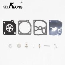 KELKONG Kit de reparación de carburador para ZAMA RB 77, piezas de repuesto para motosierra, STIHL 017 018 021 023 MS170 MS180 MS210 MS230 MS250