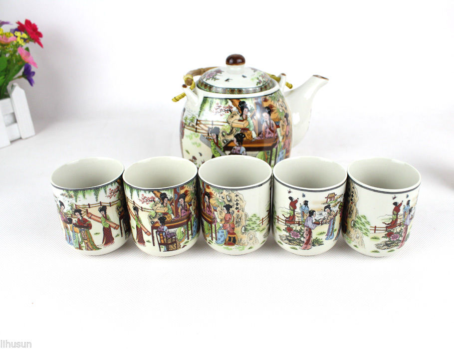 New 1set 7pcs Chinese 12 Girls In Dream Of The Red Mansion