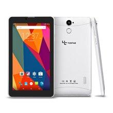 """Yuntab Nueva 7 """"E706 GPS Android Tablet Quad Core Capacitiva pantalla de 1024*600 con Doble Cámara 1 GB + 8 GB soporte de tarjeta SIM de la tableta PC"""