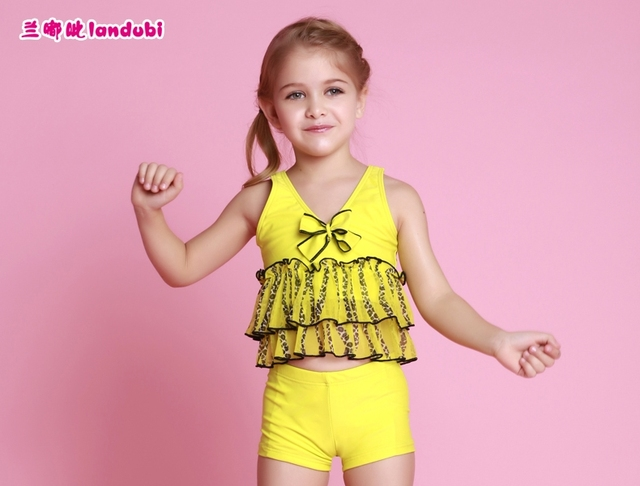 f66970fb1e416 Sexy princess toddler frozen bikini childrens swimwear for girls two piece junior  swimsuit kids child swimming