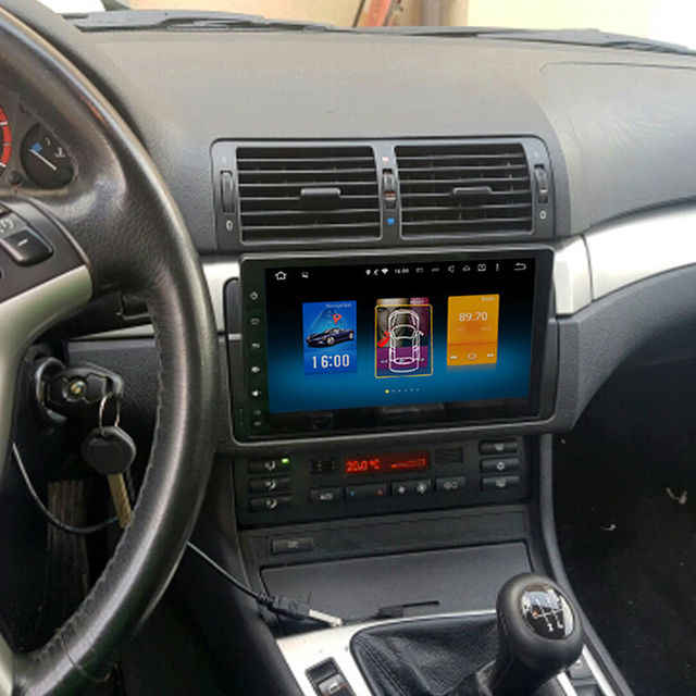 RoverOne Octa Core Pure Android 8.0 For BMW 3 Series E46