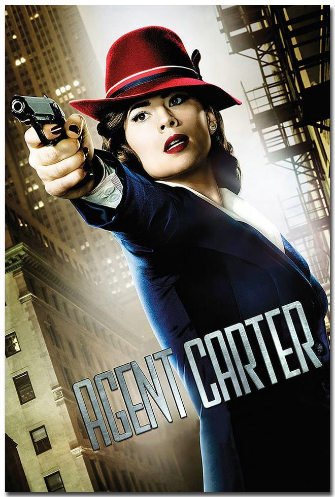 Agent Carter Hot TV Series Art Silk Poster Print 13x20 24x36 Home Wall Decoration Captain America 002