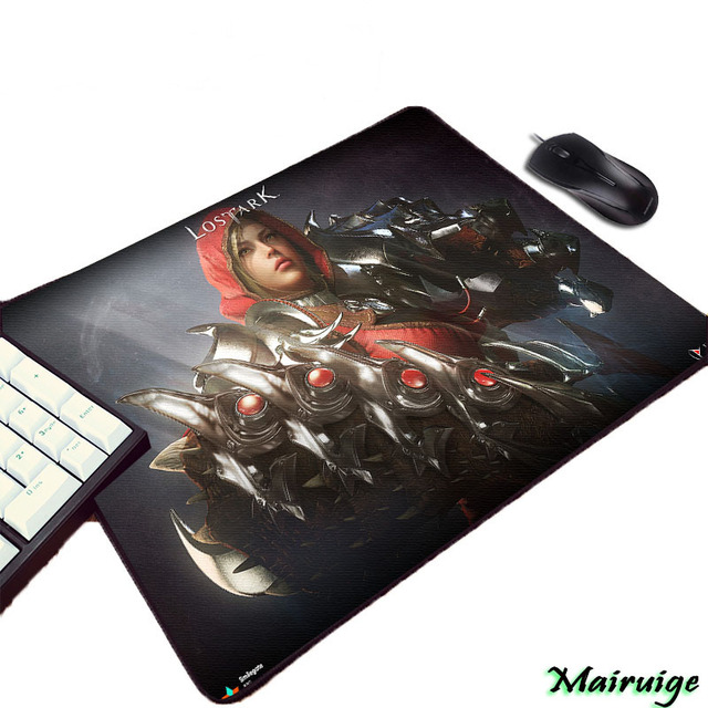 Mairuige Lost Ark Hd Wallpaper Art Print Cool Video Game Gamer Rubber Mouse Pad Small Size