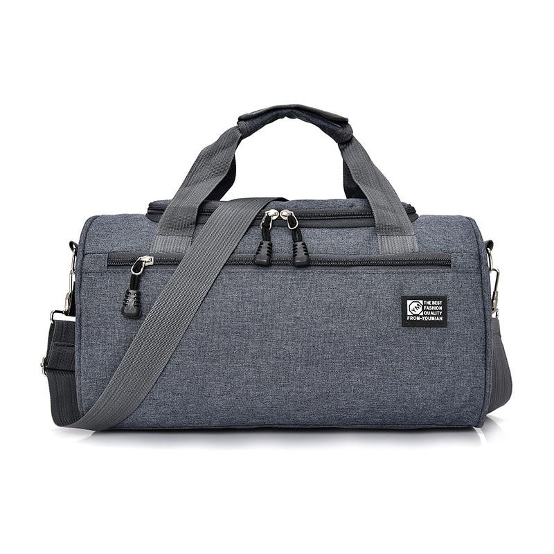 Gym Bag Women Fitness Yoga Bags Men Outdoor Sport Bag Waterproof Sac De One Shoulder Handbag Swimming Travel Package Sports Bags