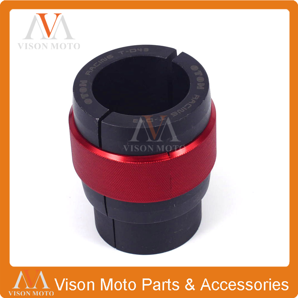 43MM Front Fork Oil Seal Driver Installer For KTM EXC XC SX HONDA CBR Kawasaki KLX SUZUKI GSXR YAMAHA YZF Motorcycle Dirt Bike keoghs motorcycle front shock absorber clamp fender bracket for honda yamaha kawasaki suzuki scooter dirt bike refit modify