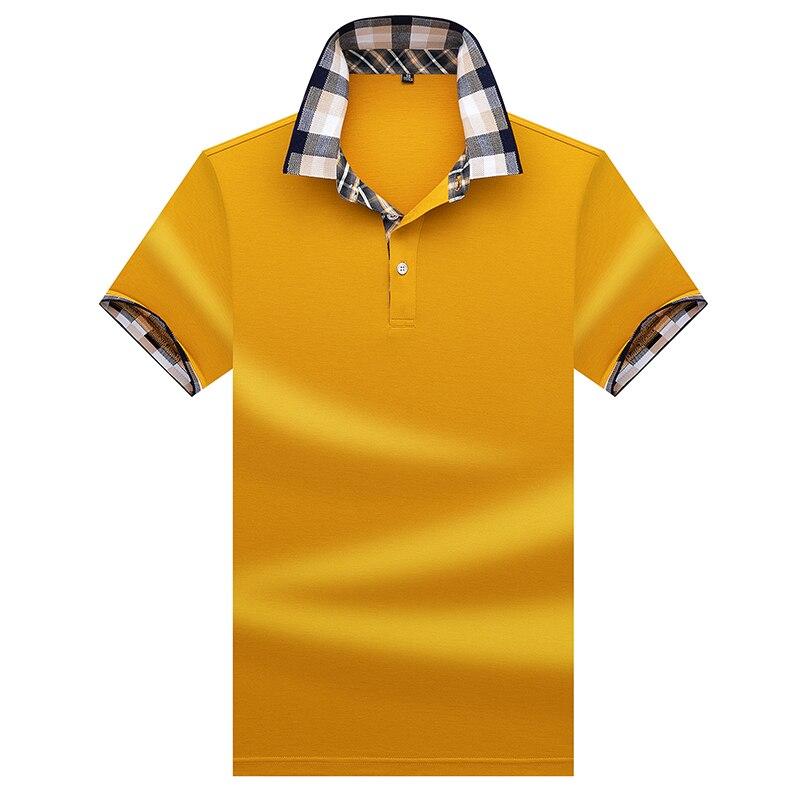 Polos de qualite superieure hauts et chemises Hommes Daffaires hommes marques polos 3D broderie Turn-down col hommes polo