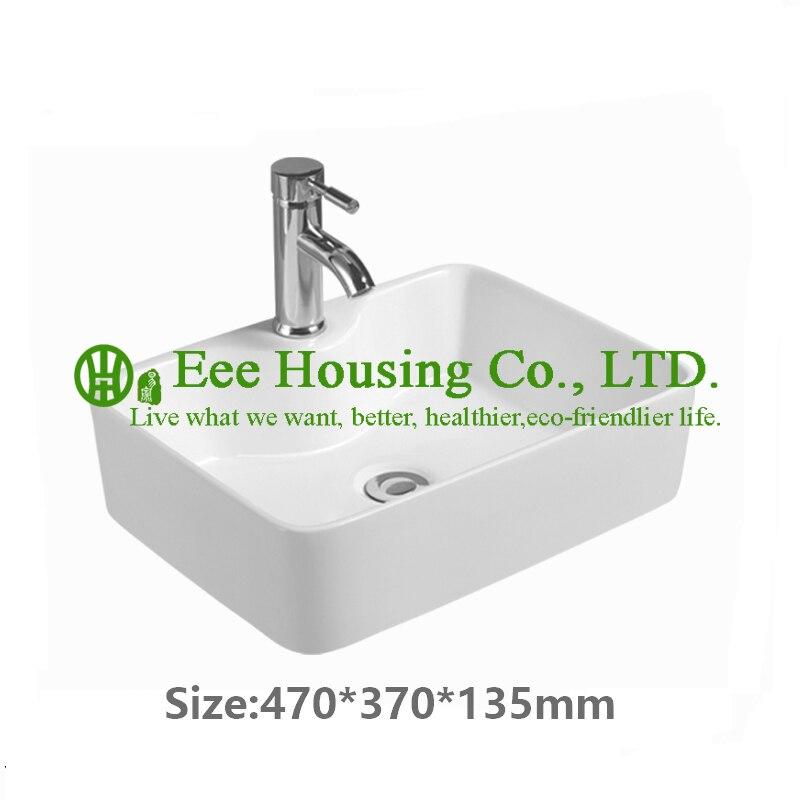 Haute qualité salle de bain bassin lavabo lavabo en porcelaine