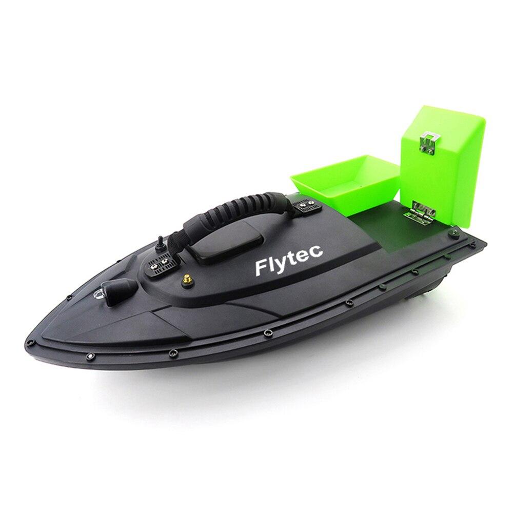 Flytec 2011 5 Fishfinder 1.5kg Laden 2 stuks Tanks Dubbele Motoren 500M Afstandsbediening Zee RC visaas Boot met Casting - 5