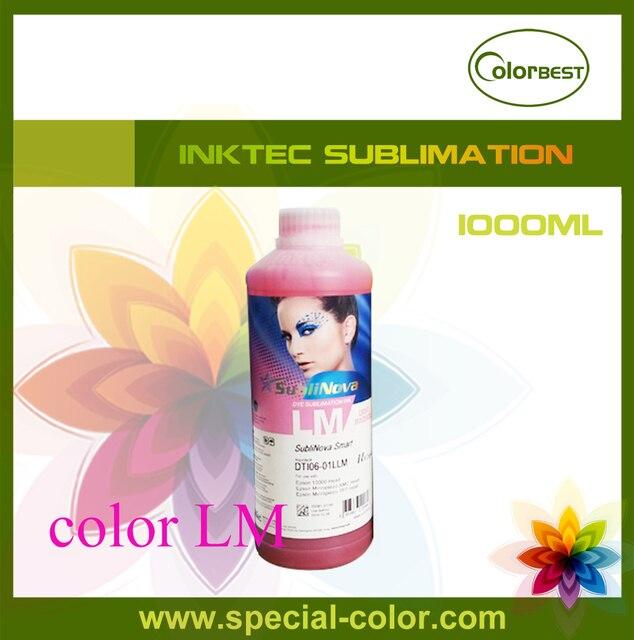 Цвет lm Корея сублимационные чернила inktec sublinova бутылки чернила для Roland/Mimaki/Mutoh/Epson