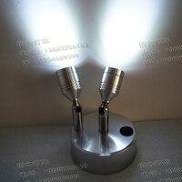 NEW 5 battery book light led small spotlights Showroom cabinet lights cabinet lights backdrop lamps living room SD28 LU1021