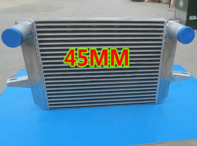 "2.5/"" 63mm ALLOY FRONT MOUNT INTERCOOLER FMIC FOR FORD FIESTA FOCUS MONDEO RS ST"