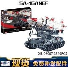 New 06007 1469Pcs Military Series The SA-4 Ganef Set Building Blocks Bricks Children Educational Boy Toys Model Gifts BOY