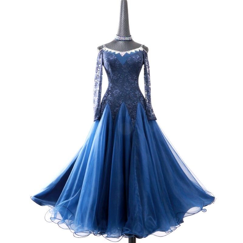 Четыре цвета, стандартные женские платья для бальных танцев, вальс, Бальные стандартные платья, современная танцевальная одежда, костюмы для танцев