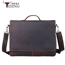 лучшая цена Messenger Bag Leather Men Bags Genuine Leather Bag Big Shoulder Crossbody Bags Casual Laptop Handbag Business Briefcase Bags