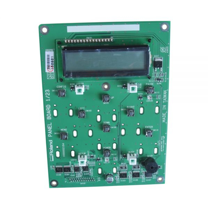 Original Roland VP-540 / RS-640 Panel Board - W702406010 roland vp 540 rs 640 vp 300 sheet rotary disk slit 360lpi 1000002162 printer parts