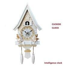 20 дюймов часы Cuckoo гостиная спальня милые детские настенные часы мультфильм часы с подвеской тихий кварцевый часы