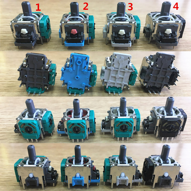 100Pcs/Lot Original New ALPS 3 Pin Analog Joystick For PS4 For Xbox One Xboxone For PS3 Controller
