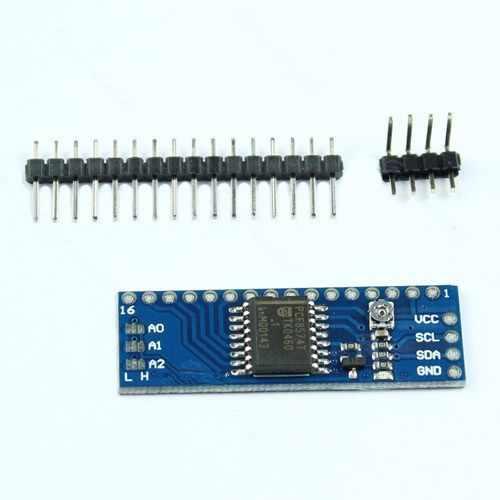 1 pièces nouveau WQScosea QH86 5 V IIC I2C TWI SPI carte d'interface série Module carte de Port pour Arduino 1602LCD 1602 écran LCD