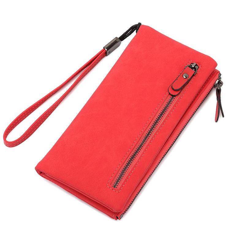 Fashion Women Genuine Leather Wallet Long Purse Phone Pocket Handy Clutches Money Coin Bag Portfolio Card Holders Carteras 2017 hot sale lovely leather long women wallet fashion girls change clasp purse money coin card holders wallets carteras