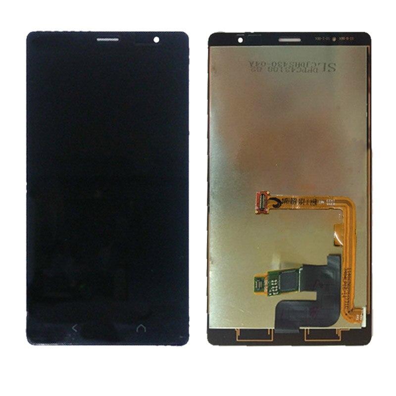 Para NOKIA X2 LCD Screen Display Touch com Quadro de Substituição para o NOKIA X2 Dual RM-1013 RM-1014 X2DS Tela LCD