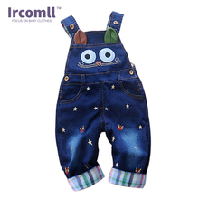 bebe the same style High-Quality Baby Romper Animal Baby boy Clothing Kids Overalls Spring Infant Jeans Jumpsuit  De Bebe