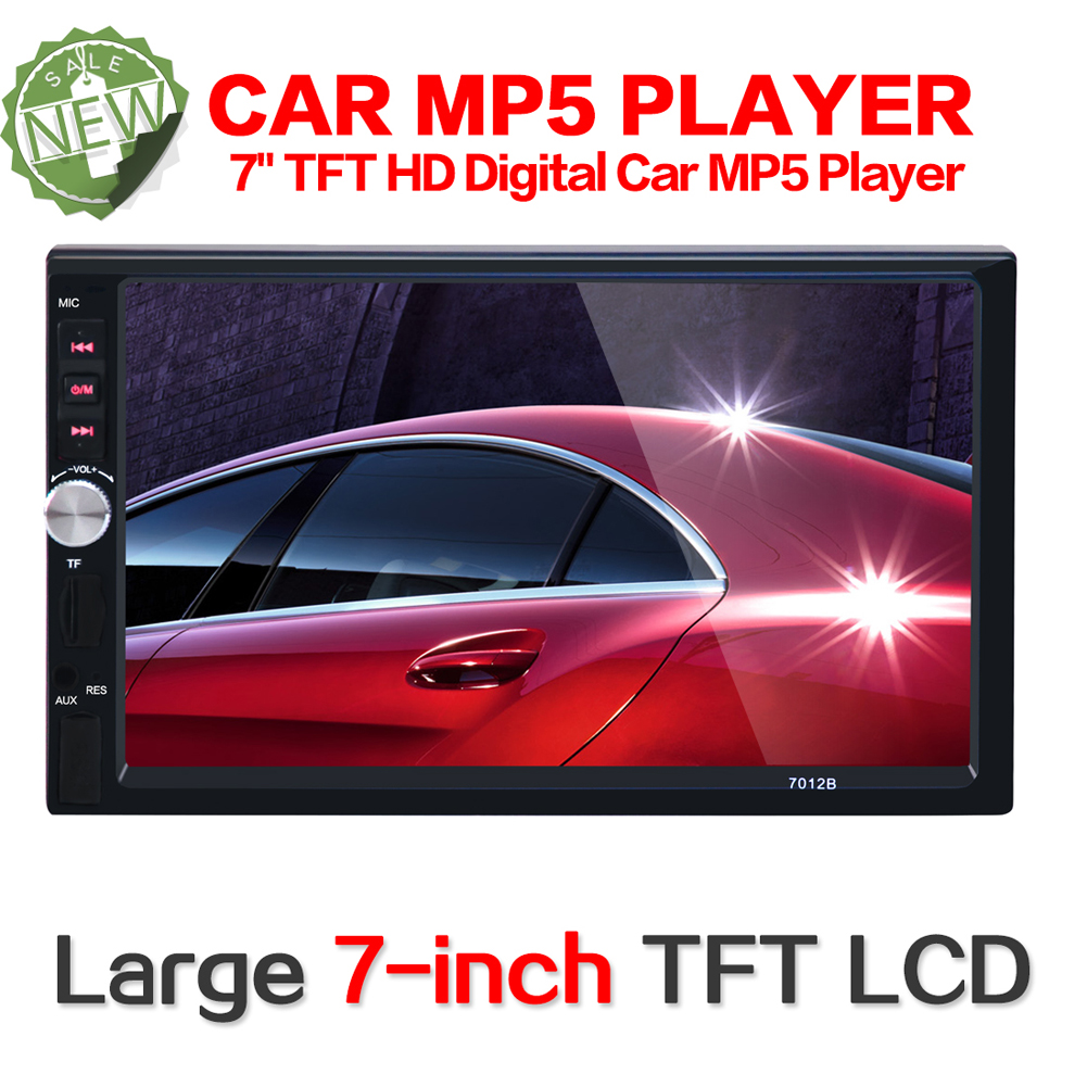2 Din Car Multimedia Player 7'' HD Bluetooth Auto Stereo Radio FM MP5 Audio Video USB NO DVD Electronics Car Radio MP5 Player