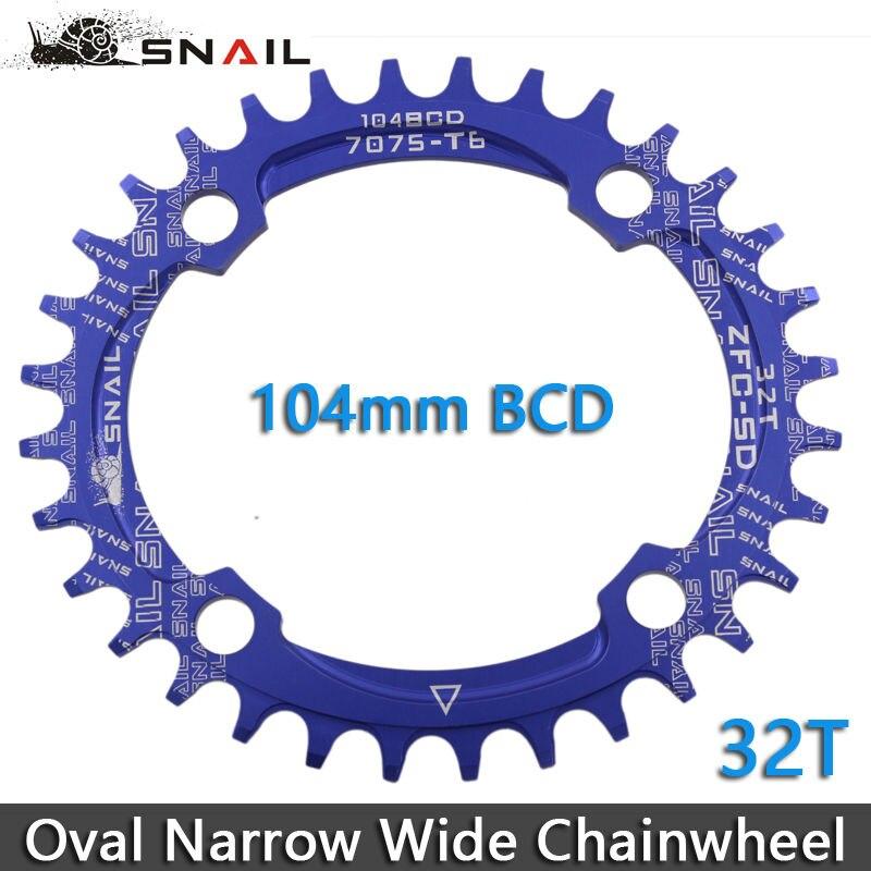 SNAIL 104BCD 32T / 34T / 36T Ultralight A7075 Alloy MTB Bike Bicycle - Հեծանվավազք - Լուսանկար 5