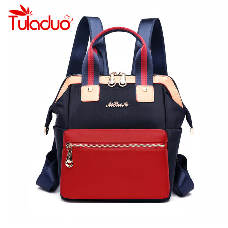 Waterproof Women Backpack Fashion Travel Bags Bags Mummy Outside Bag School Backpack For Teenage Girls Casual Style Back Pack