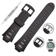 OTOKY Watchbands Watch Strap Rubber Strap Bracelet Adjustable Replacement SS0S4723000 For SUUNTO OBSERVER SR X6HRM