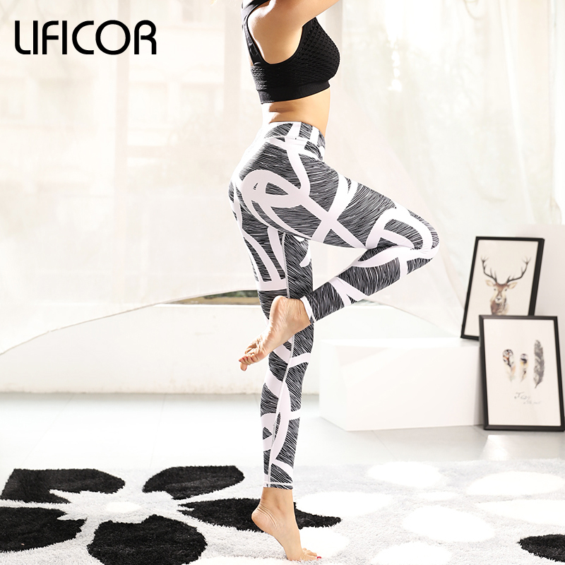 822aa0abf Women Leggings Yoga Pants Workout Fitness Sport Print Athletic Pants  jeggings Gym Clothing Sweatpants Running leggins