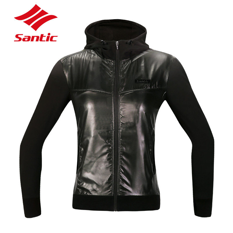 ФОТО Santic Autumn & Winter Cycling Jerseys Women MTB Mountain Road Bike Clothes Outdoor Downhill Bicycle Jerseys maillot ciclismo