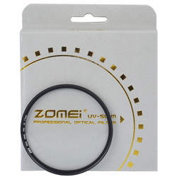 ZOMEI PRO ультратонкое 16-слойное Оптическое стекло MCUV с многослойным покрытием, MC УФ-фильтр для Canon NIkon Hoya Sony DSLR, объектив камеры