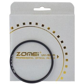 ZOMEI PRO ultra cienki MCUV 16 warstwa wielowarstwowy ze szkła optycznego MC UV filtr do aparatów canon NIkon Hoya Sony obiektyw lustrzanki cyfrowej