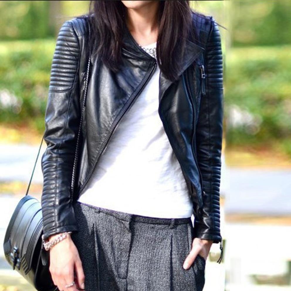 Online Get Cheap Faux Leather Biker Jacket -Aliexpress.com ...
