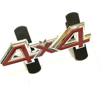 Metal 4x4 Chrome Plating Front Grill Emblem Badge