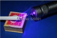 Wholesale High power Blue Laser pointer 60000mw 60W 450nm Lazer Adjustable Focus Burning match/pop balloon/Burn cigarettes+5 caps+Gift Box