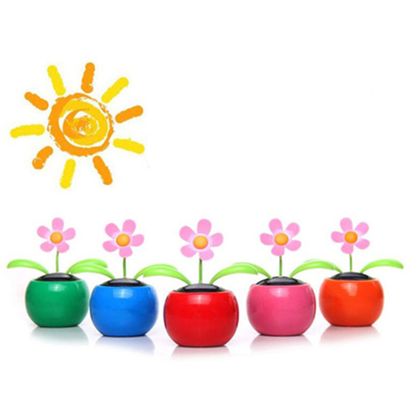 1265a4eb8f7c Solar Powered Menari Bunga Mainan Flip Flap Mobil Meja Mobil Penari Bobble  Mainan Klasik Solar Mainan Hadiah Kreatif untuk anak anak di Surya Mainan  dari ...