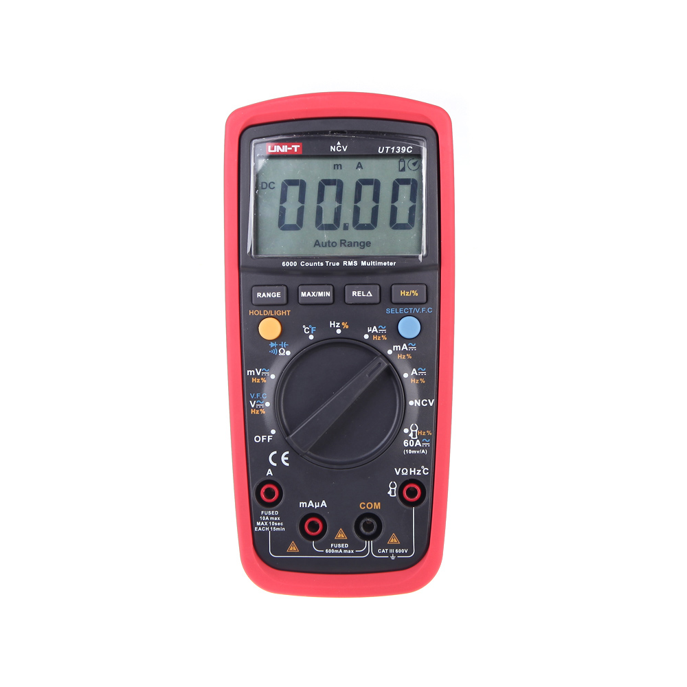 Portable Digital Multimeters Mini AC/DC Voltage Meter Voltmeter AC Current Tongs Insulation Resistance Capacitance Diode Tester benetech gm3125 energy saving portable 12v 1 4ma voltage overload insulation resistance tester