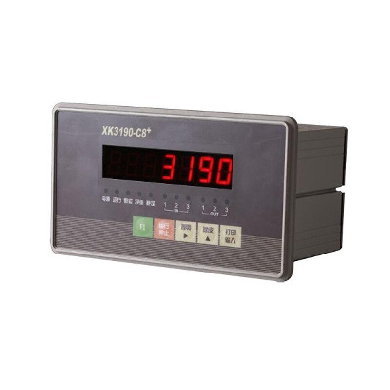 XK3190 C8 + контроль массы инструмент/упаковочная машина упаковка масштабный дисплей/Взвешивание сенсорный прибор