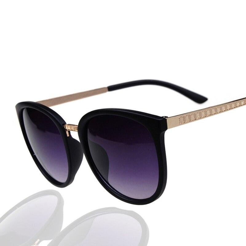 Gafas de moda ronda Oversized gafas de sol mujer marca diseñador de lujo mujeres anteojos grandes baratos tonos Hd Lunettes Oculos