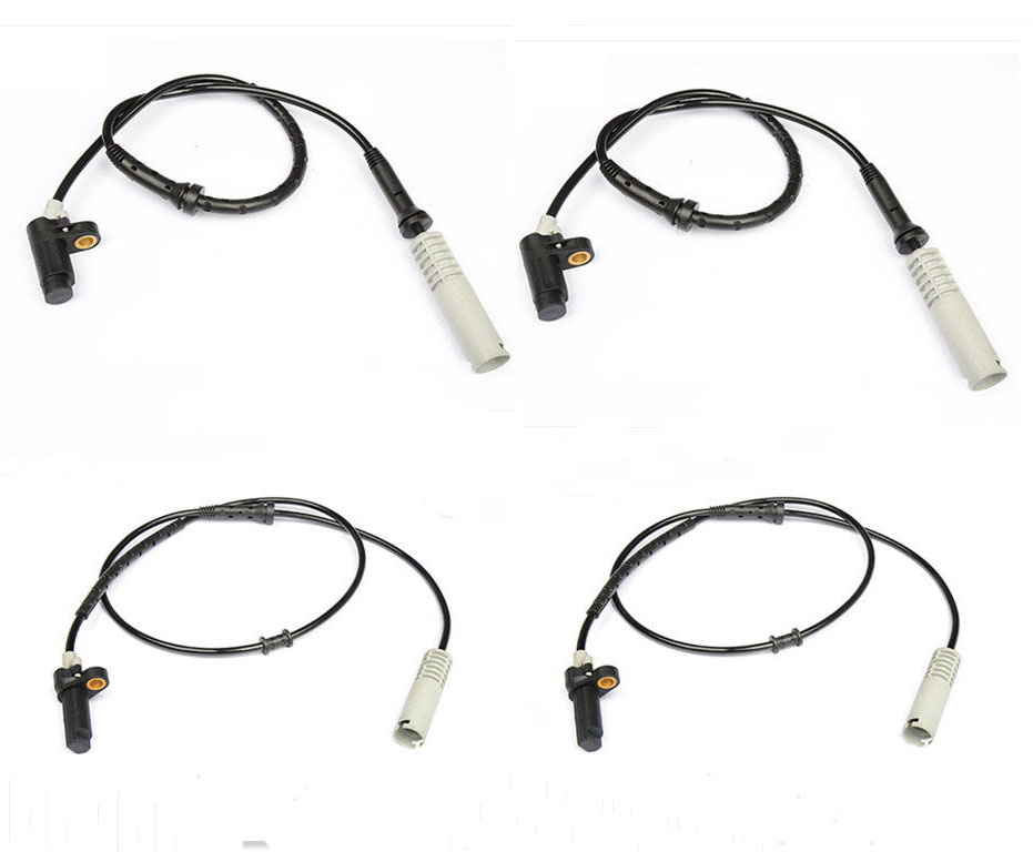FRONT REAR LEFT RIGHT ABS SPEED SENSOR FOR BMW E38 740I 750I 750IL 95-98 34521182076 34521182077