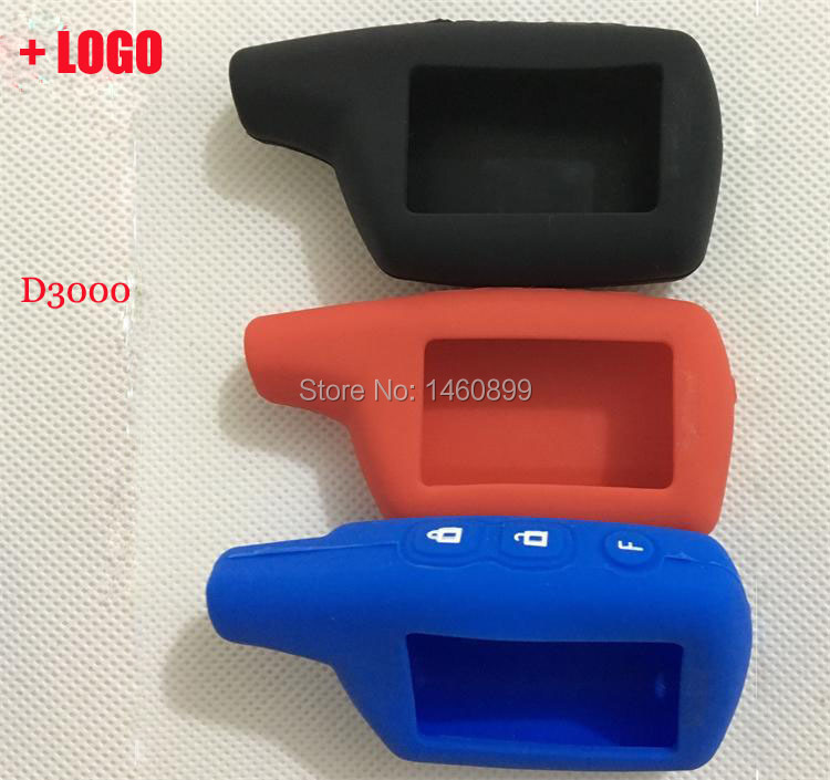 DXL 3000 Silicone Key Case, Tamarack For Russian Version 2 Way Car Alarm System PANDORA DXL3000 LCD Remote Controller Key Fob