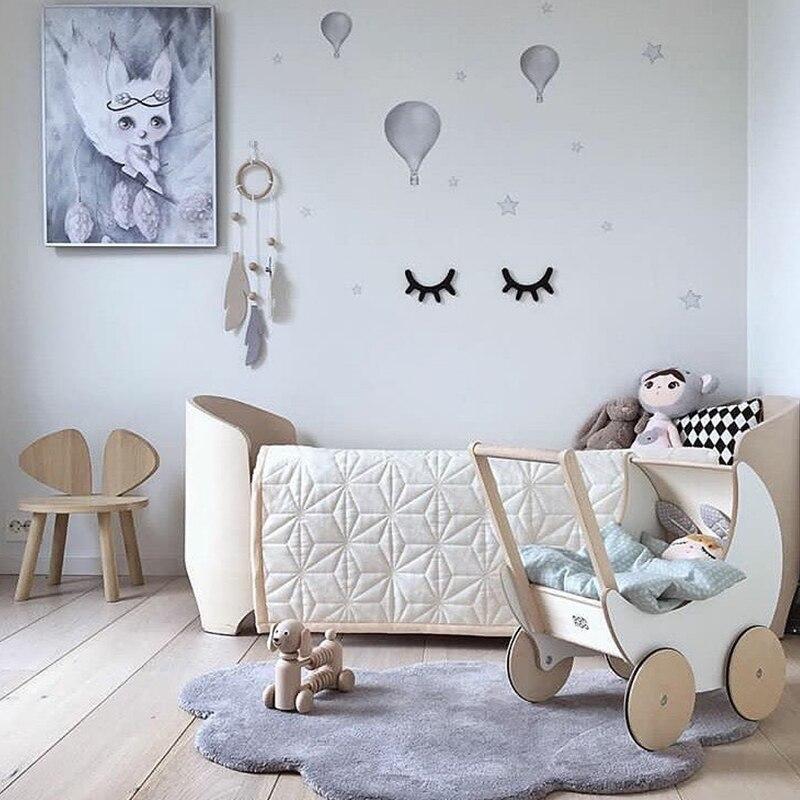INS Nordic Style Cloud Cotton Children's Mats Game Carpet Creepy Carpet Home Decor Photo props