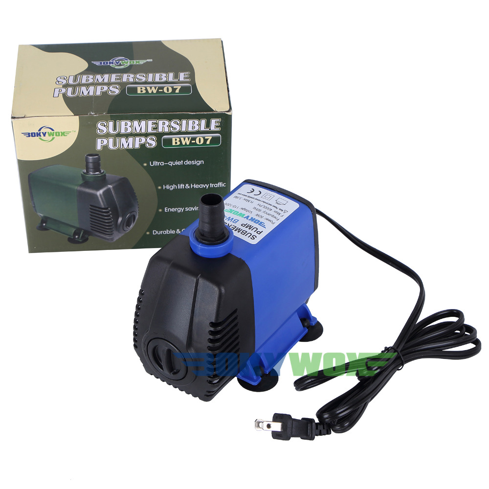 110V Submersible Water Pump 1056.6GPH,50W Pond Aquarium Fountain Fish Tank Fall Hydroponic110V Submersible Water Pump 1056.6GPH,50W Pond Aquarium Fountain Fish Tank Fall Hydroponic