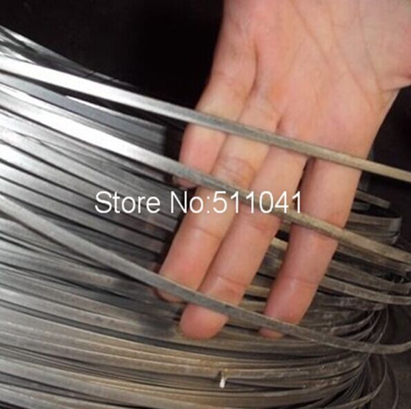 Nitinol shape memory alloy flat wire dia 2.1mm*0.7mm ,super elastic,Nitinol SMA Flat Wire for bra,1kg wholesale price