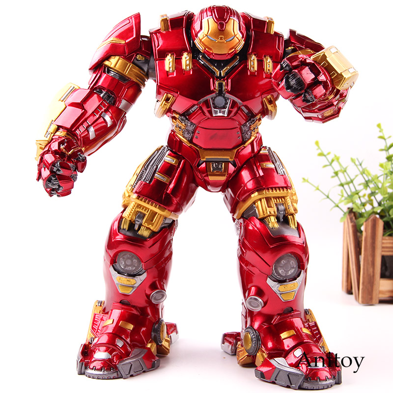 Avengers: Age of Ultron Mark44 Iron Man Hulkbuster Toy Lighting PVC Marvel Legends Action Figure Collection Model Toys