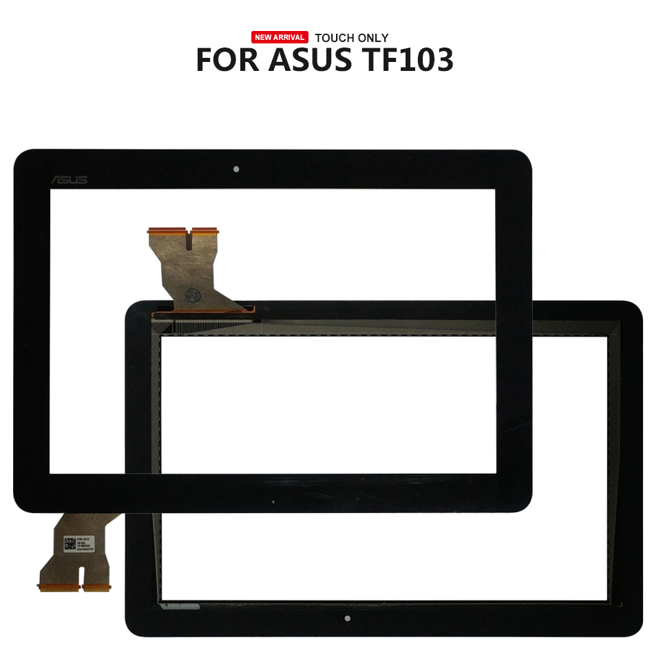 For ASUS Transformer Pad TF103 TF103CG K018 Touch Screen Glass Digitizer Panel Front Glass Lens Sensor new 10 1 inch case for asus eee pad transformer tf101 tablet touch screen panel digitizer glass lens replacement free shipping