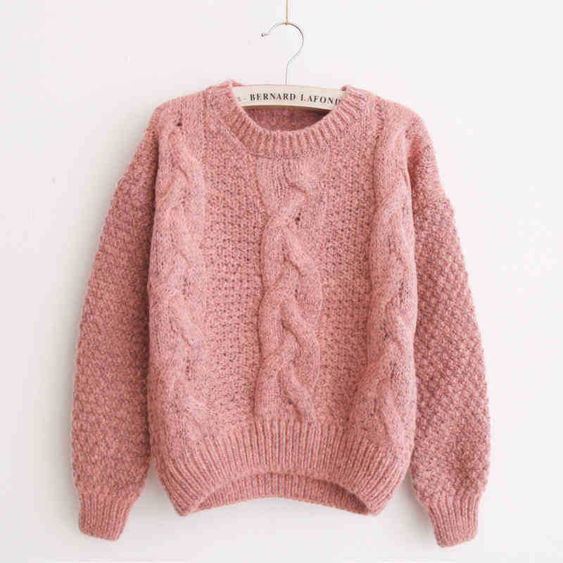 Aliexpress.com  Buy Pink Sweater Women Pull Femme 2017 Korean Jumper  Knitted Oversized Pullover Women Sueter Mujer Women Sweaters And Pullovers  Cute from