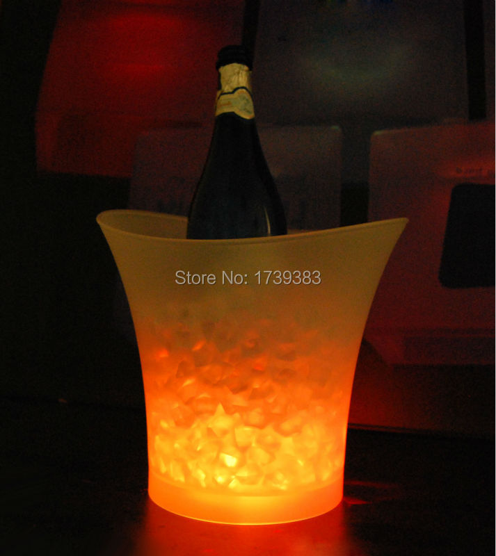 Luzes da Noite bares discotecas led light up Product Name : Color Changeable Led Ice Bucket Sl-lic03d